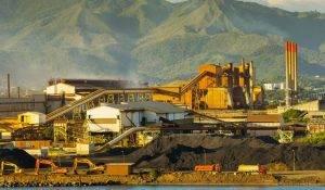 Sản xuất niken ở New Caledonia.